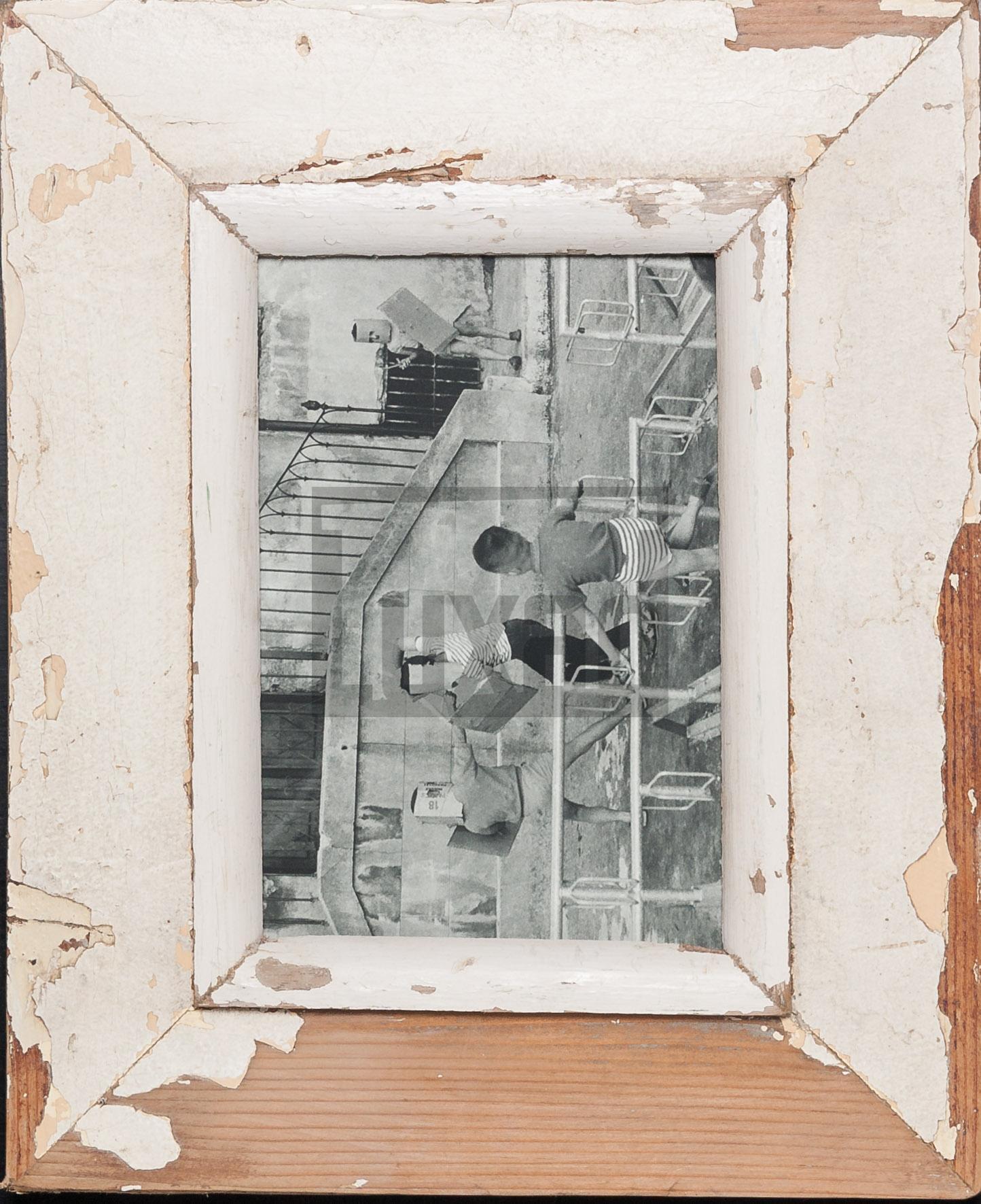 Altholz-Bilderrahmen aus Südafrika