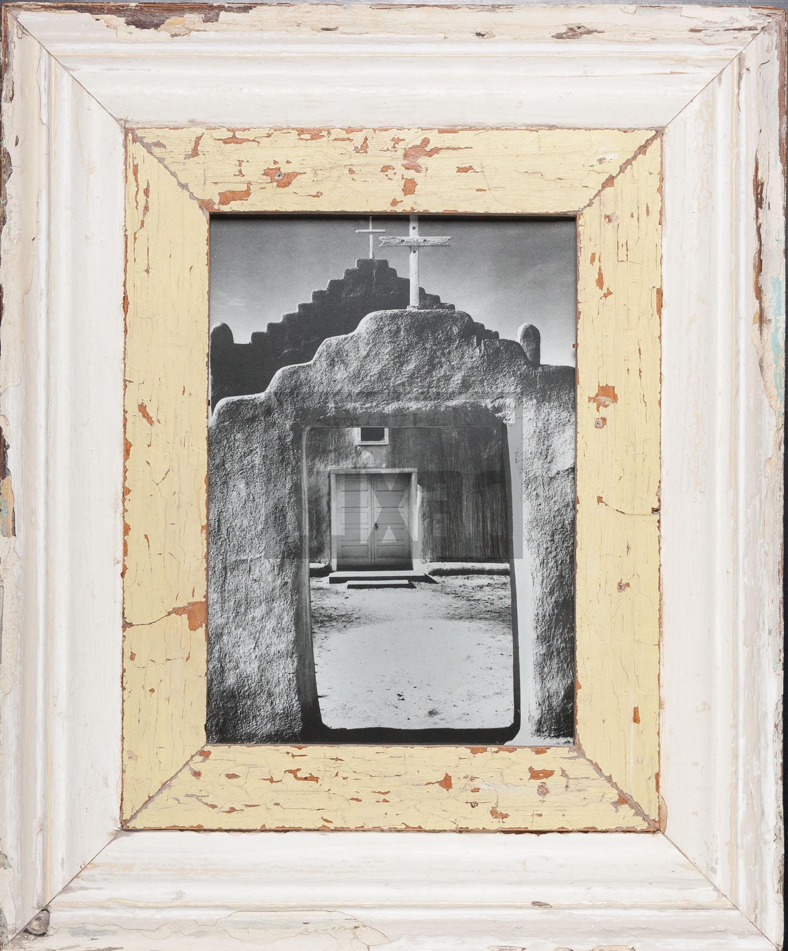 Bilderrahmen mit extra breitem Holzrahmen für ca. 23 x 32 cm Fotos