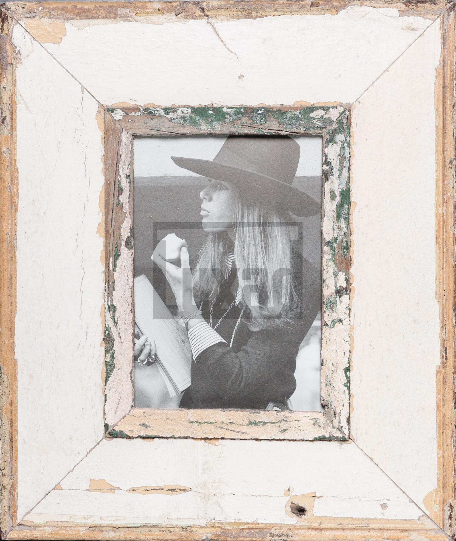 Vintage-Bilderrahmen mit breitem Rand für Fotos DIN A5