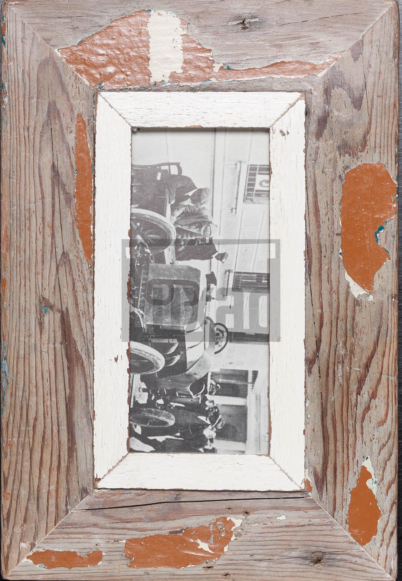 Schmaler Vintage-Bilderrahmen aus Südafrika