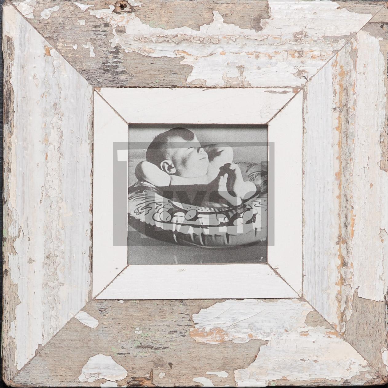Quadratischer Altholz-Fotorahmen für dein Lieblingsfoto