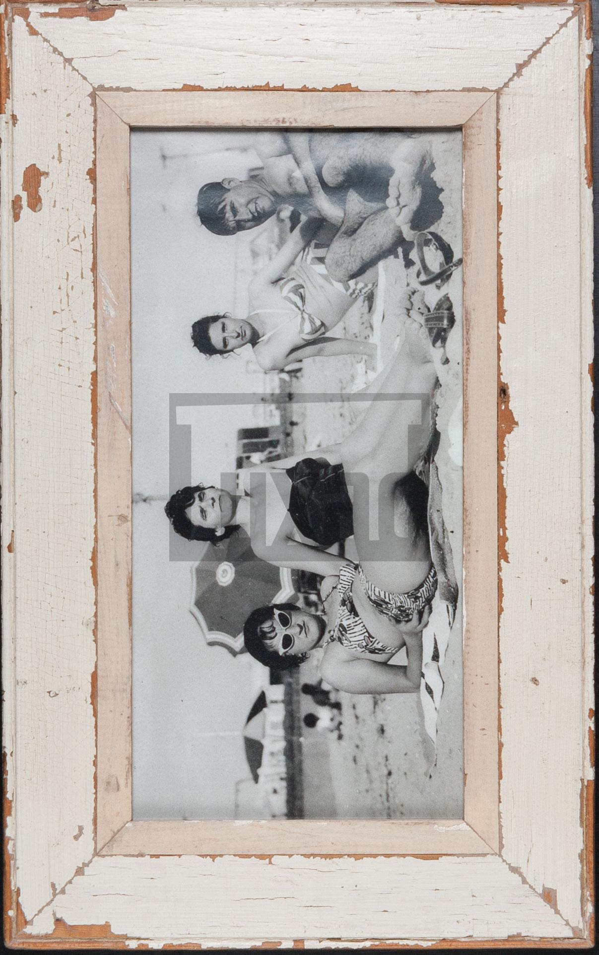 Vintage-Panorama-Bilderrahmen aus Kapstadt