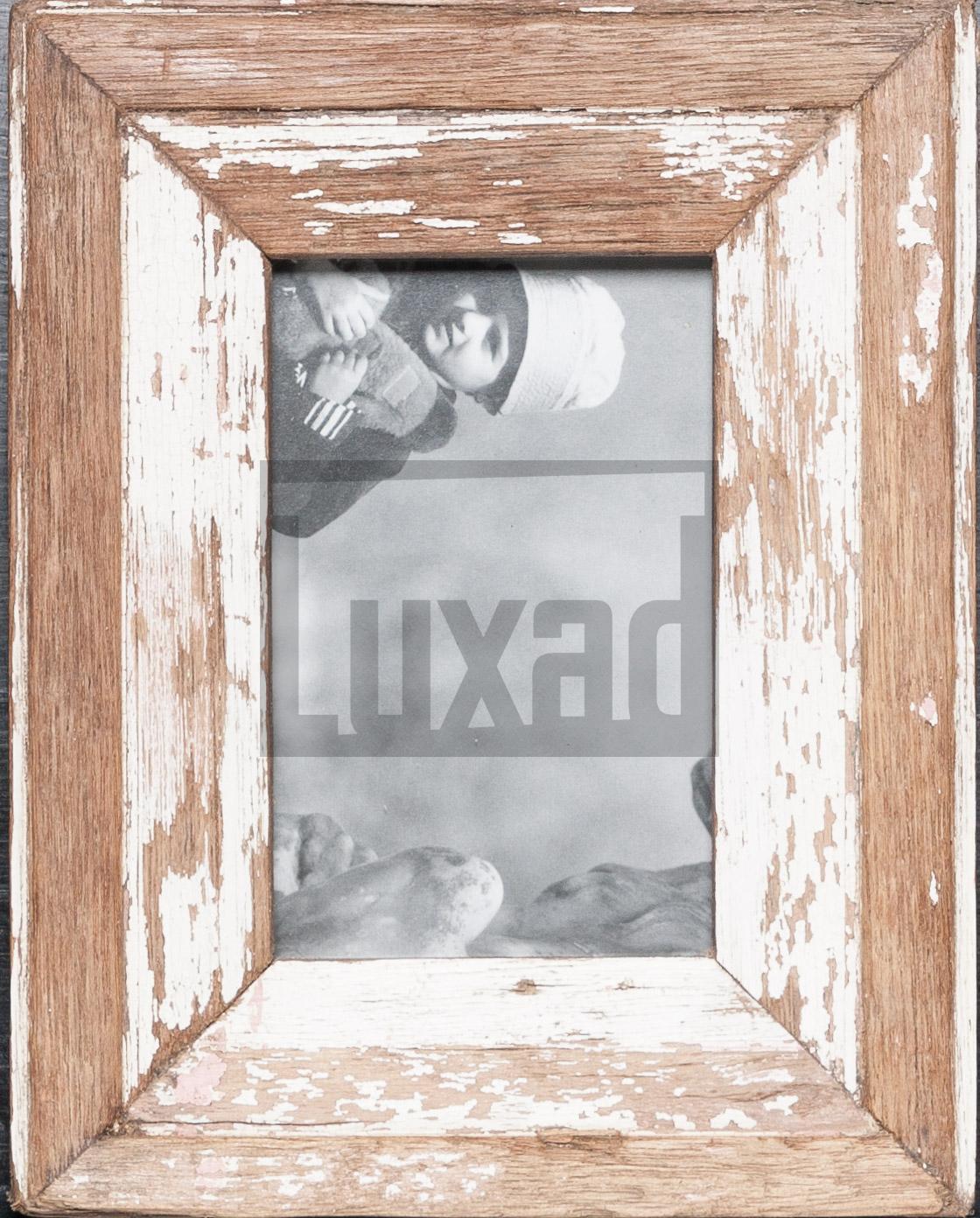 Wechselrahmen aus Altholz von der Luna Design Company