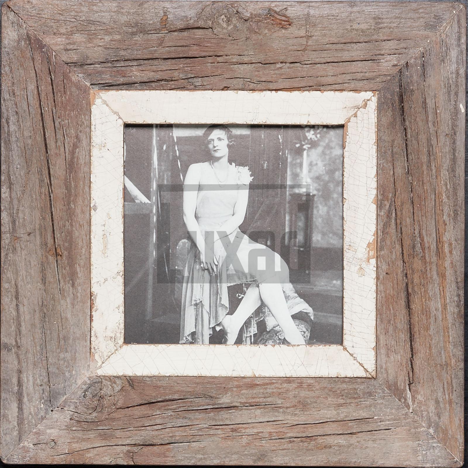 Quadratischer Vintage-Bilderrahmen aus Südafrika