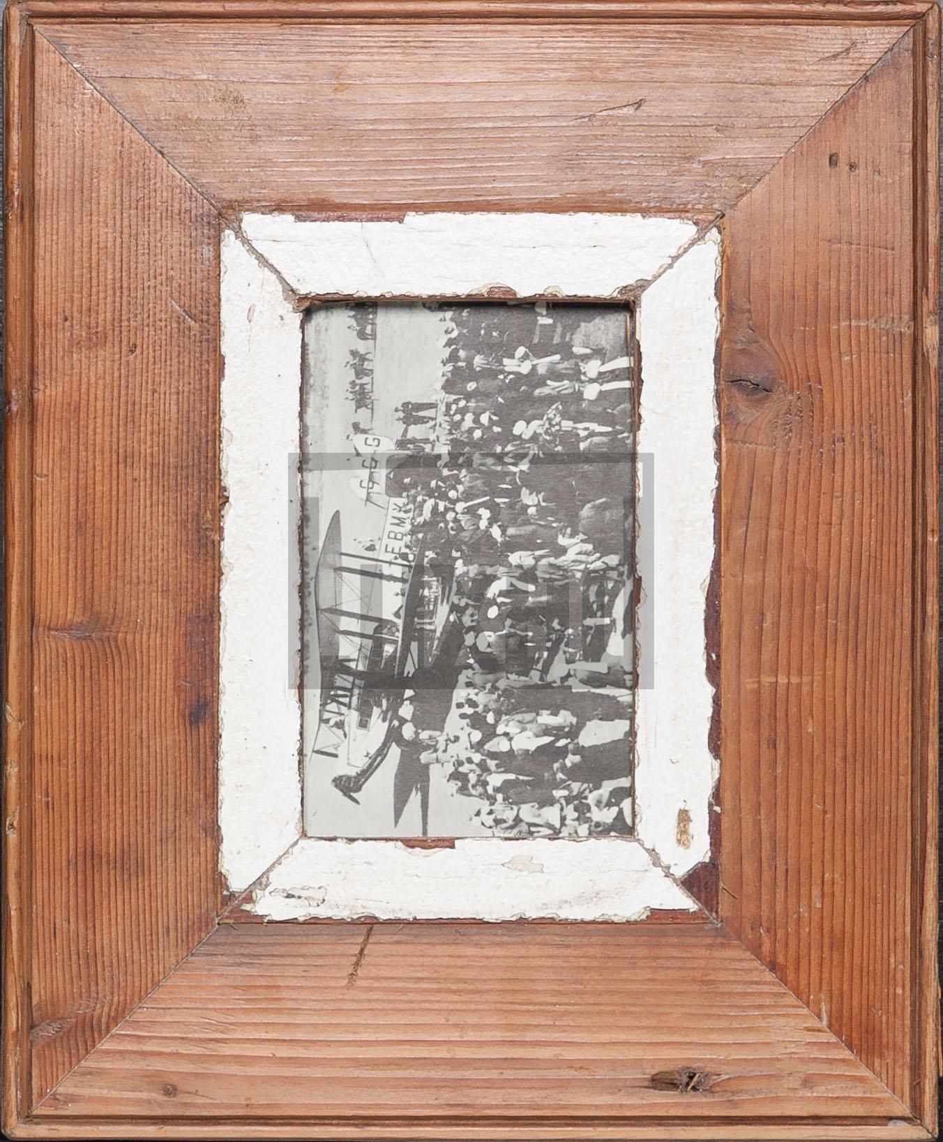 Holzbilderrahmen für Fotos DIN A6